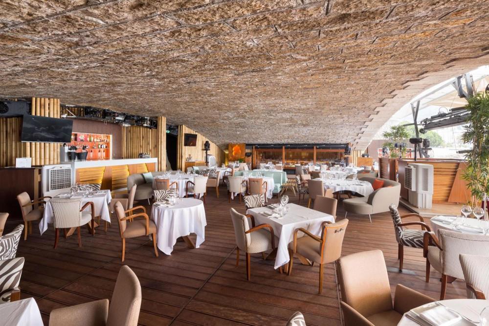 La pizza di Le Specialità al Twiga di Monte Carlo!