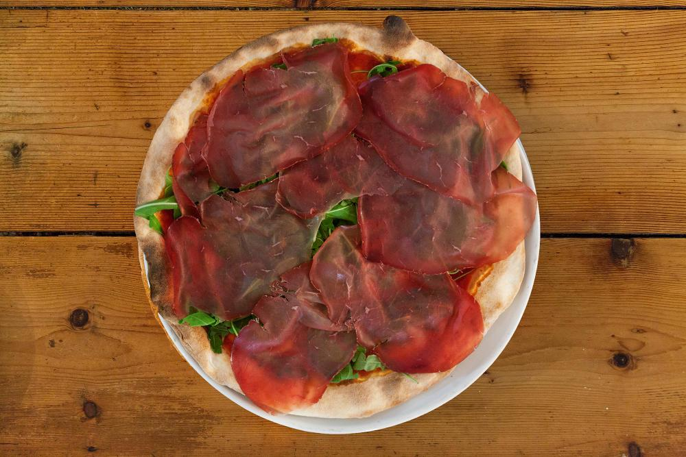 pizza senza glutine ricette bresaola